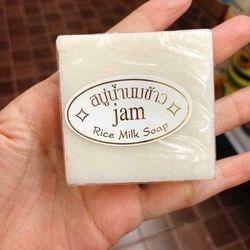 Xà Phòng Kích Trắng Cám Gạo Thái Lan Jam Rice Milk Soap sỉ 130k/lốc 12 cục giá sỉ
