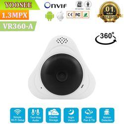 Camera Giám Sát Ốp Trần Tường Yoosee VR360-A Độ Phân Giải HD960P 13Mpx giá sỉ