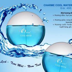 Nước hoa nam Charme Cool Water 100ml giá sỉ