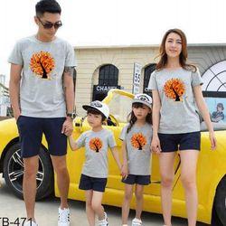 áo thun gia đình cho ngày hè B21 giá sỉ