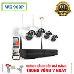 Bộ Camera Kit 4 Mắt Wireless HD 960P – Kết Nối Không Dây Tiện Lợi giá sỉ