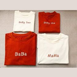 áo thun gia đình mới A1 giá sỉ, giá bán buôn