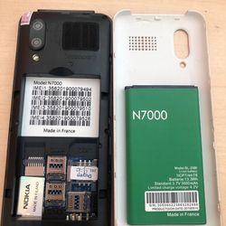 Nokia N7000 full box-4 Sim- MH lớn - Phím lớn giá sỉ