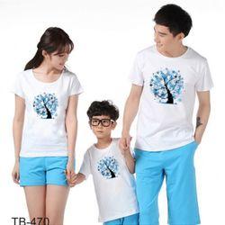áo thun gia đình cho ngày hè B2 giá sỉ
