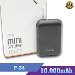 Pin Sạc Dự Phòng Boliduo P-24 Mini Kèm Cáp Micro USB – Hỗ Trợ Đầu Vào Micro và Type-C giá sỉ