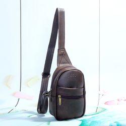 Túi đeo chéo unisex CNT MQ23 nâu giá sỉ, giá bán buôn