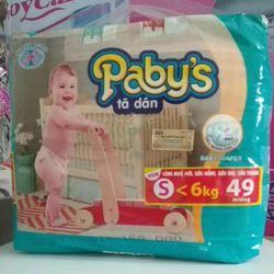 Tã Dán Pabys bịch Đại Đủ Size S49 - M46 - L43 - XL41 giá sỉ
