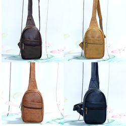 Túi đeo chéo unisex CNT MQ23 bò đậm giá sỉ, giá bán buôn