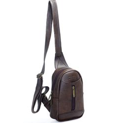 Túi đeo chéo unisex CNT MQ22 cá tính nâu giá sỉ