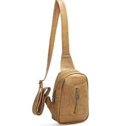 Túi đeo chéo unisex CNT MQ22 cá tính bò lợt giá sỉ