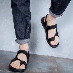 Giày sandal nam nữ mã sp 2116 đen giá sỉ, giá bán buôn