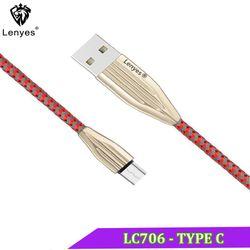 Cáp Sạc Nhanh Lenyes LC706-TypeC Cáp Sạc - LC706-TypeC giá sỉ