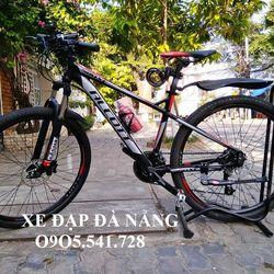 xe đạp địa hình Alcott 580XC màu đen đỏ giá sỉ, giá bán buôn
