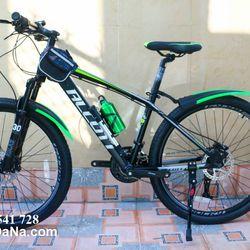 xe đạp địa hình Alcott 680XC khung nhôm màu xanh chuối giá sỉ