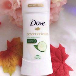 Lăn khử mùi dạng sáp Dove Advanced Care 48h loại 74g giá sỉ, giá bán buôn