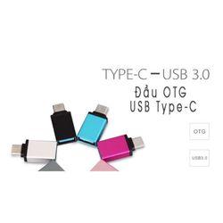 Đầu OTG dành cho các dòng máy cổng USB Type-C giá sỉ