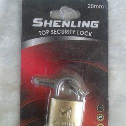 Ổ khóa bằng đồng than 20mm giá sỉ