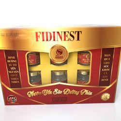 Nước yến sào FidiNest đường phèn - Thùng 6 hộp quà giá sỉ, giá bán buôn