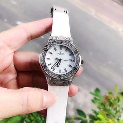 đồng hồ hlt nữ trắng tb giá sỉ