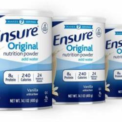 Sữa Ensure Mỹ Original Nutrition Powder 400gr Vanilla giá sỉ