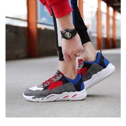 Giày Sneaker Nam Mix Màu Cá Tính D2562 giá sỉ