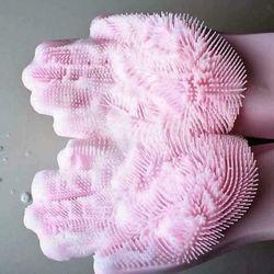 Găng tay rửa bát silicon thần thánh