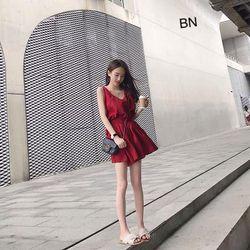 đồ bộ mặc nhà nữ dễ thương bằng vải thun đẹp giá rẻ đùi đũi ba lỗ BN 17126 Kèm Ảnh Thật giá sỉ