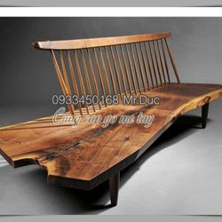Bàn làm việc gỗ me tây nguyên tấm tự nhiên giá sỉ