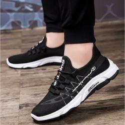 Giày Sneaker Nam Vải Lưới Thoáng Khí Năng Động D2566 giá sỉ