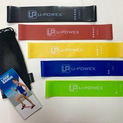 Set 5 dây kháng lực miniband / U-POWEX giá sỉ