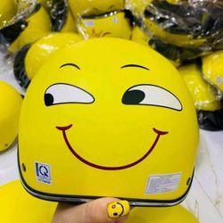 Nón bảo hiểm hình mặt cười giá sỉ