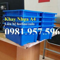 Hộp nhựa A4 Khay nhựa đựng linh kiện điện tử Khay nhựa A4 giá sỉ