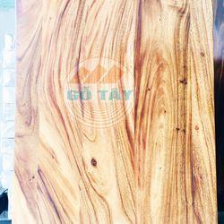Mặt bàn gỗ me tây tự nhiên bền đẹp dài 1m4 giá sỉ