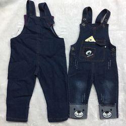 Quần yếm jean cho bé trai bé gái