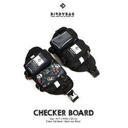Túi bao tử Birydbag Checker Floral giá sỉ