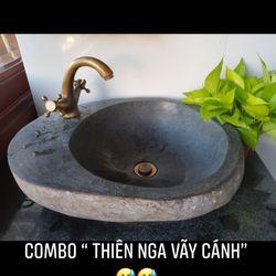 Chậu rửa đá tự nhiên lavabo đá tự nhiên giá rẻ giá sỉ