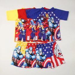 Đồ bơi bé trai đội trưởng mỹ captain America giá sỉ
