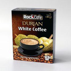 CÀ PHÊ SẦU RIÊNG - SỰ KẾT HỢP ĐỘC ĐÁO từ Rockcafe White Coffee - Hộp 12 gói x 20g giá sỉ