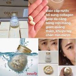 Viên Uống Cấp Nước Bổ Sung Collagen Innerb Aqua Rich 70 viên giá sỉ