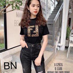 áo thun nữ đẹp kiểu hàn quốc form rộng giá rẻ FF BN 74169 Kèm Ảnh Thật giá sỉ