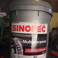 Mỡ chịu nhiệt Sinopec Lithium Red NLGI 3 xô 17kg giá sỉ