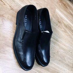 Giày lười nam da bò GL-004BẢO HÀNH 2 NĂM giá sỉ