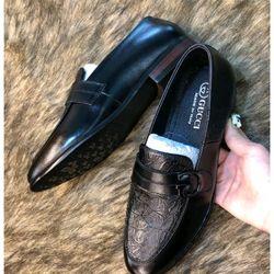 Giày lười nam da bò GL-0005bảo hành 2 năm giá sỉ