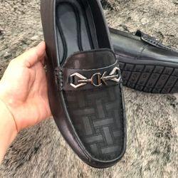 Giày lười nam da bò cao cấp-pavarcia PL 08 giá sỉ