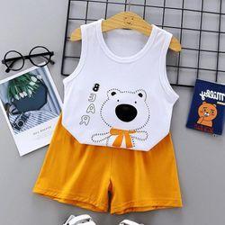 Bộ quần áo cho trẻ sơ sinh chất liệu thun cotton thoáng mát 103 giá sỉ