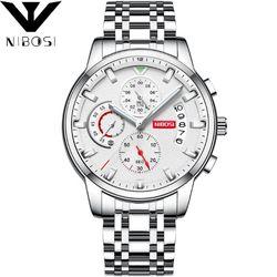 Đồng hồ Nibosi 2358 full trắng 5 màu giá sỉ
