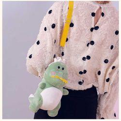 Túi đeo chéo hình khủng long nhiều màu có VIDEO giá sỉ, giá bán buôn