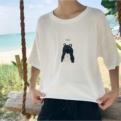 áo tay lở 2 màu in gấu con đáng yêu giá sỉ nha các bạn giá sỉ