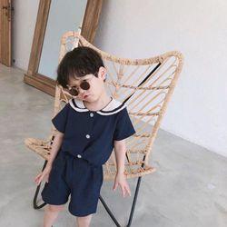 Bộ áo quần học sinh bé trai