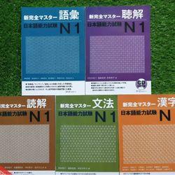 Sách Tiếng Nhật - Shinkanzen n1 trọn bộ 5 cuốn kèm CD giá sỉ
